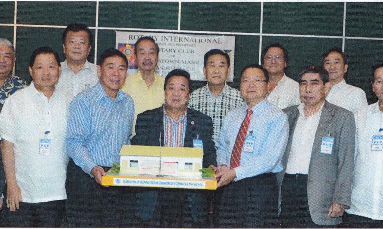 吳長永紀念基金嚮應商總方案 特別熱心慷慨捐一座農村校舍