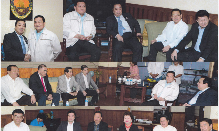 商總多位領導拜會 國調局新任局長Mendez