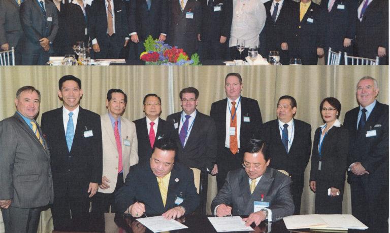 商總與澳大利亞菲律濱商會 總理見證下簽署友好協議書