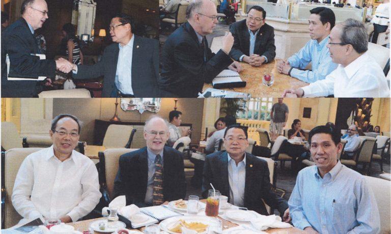 商總多位高層領導 與美商務參贊會晤