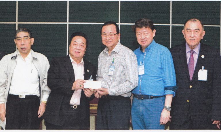 潘振興捐商總 福利金十萬元