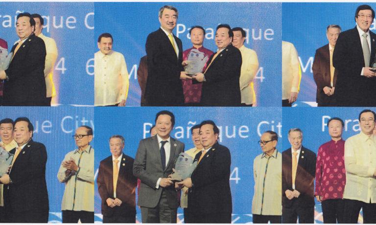 慶祝六十週年鑽禧慶典 商總向六名知名華商 頒贈傑出商業成就獎