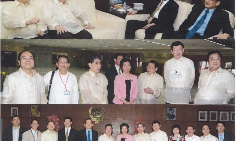 商總諸位領導熱烈歡迎 福建省僑辦主任楊輝等