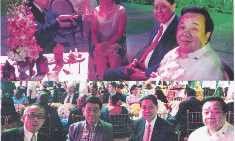 商總施文界等領導出席 總統設文藝晚餐會招待 世界經濟論壇各國代表