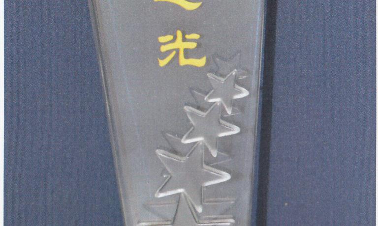 世界華僑華人社團聯誼大會 頒贈『華社之光』獎予商總 理事長施文界博士代表領獎