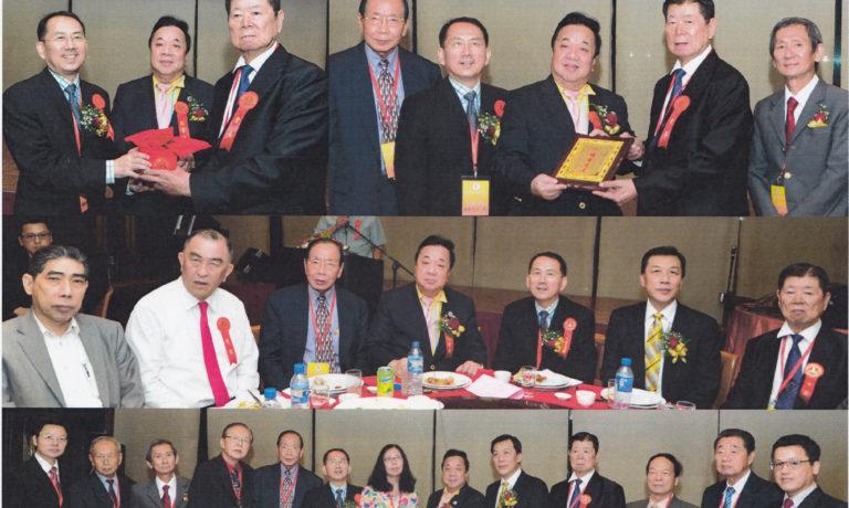 商總理事長施文界博士應邀 擔任華文作協就職禮監誓員