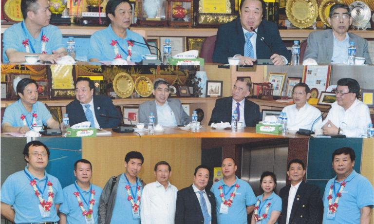 商總諸位領導熱烈迎接 閩商下南洋代表團蒞訪