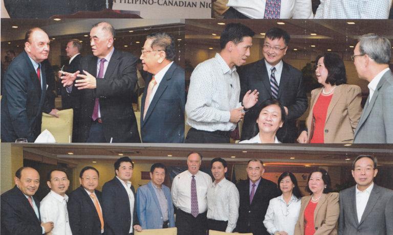 商總諸領導人應邀出席參加 岷海外記者『加拿大之夜』