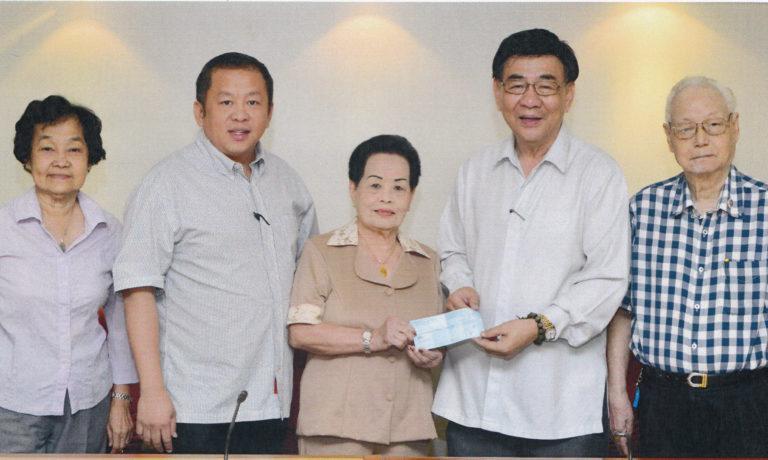 劉黃麗珍女士獻捐 商總農村校舍一座