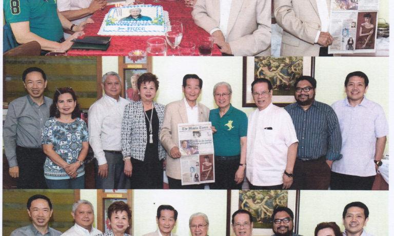 商總領導與馬尼拉時報編輯團會晤